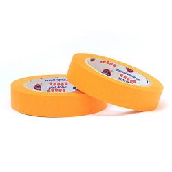 EUROCEL Маскирующая термостойкая лента 19мм*40м, оранжевая