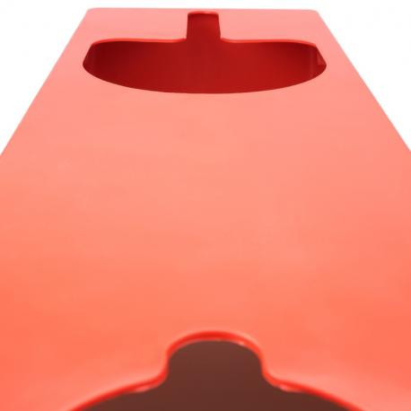 Shine Systems Держатель полировальных машинок, настенный, пластик, черный 60*25,5*9,5см