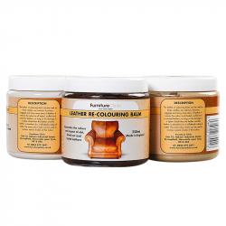 LeTec FurnitureClinic Leather Re-Colouring Balm (Cream )(250 ml)-Бальзам для восст. цвета кожи
