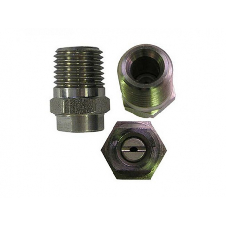 R+M Форсунка 25045 ( сила удара -100%), 1/4 внеш, нерж. сталь