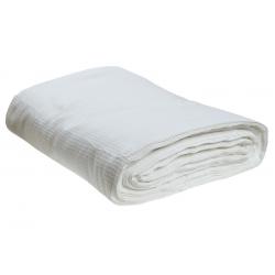 Вафельное полотно отбеленое 45см, 150 гр/м2, (в рулоне 60 м)