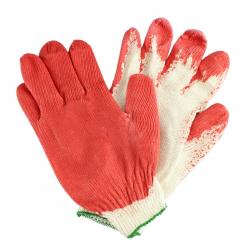 Перчатки трикотажные с 1-м латексным покрытием (Россия), 1 шт