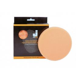 JETA PRO Полировальный диск, полутвердый, оранжевый 150*25 мм