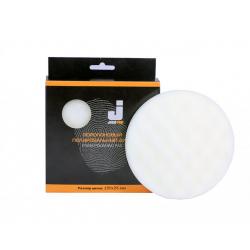 JETAPRO Полировальный диск, твердый ребристый, белый 150*25 мм