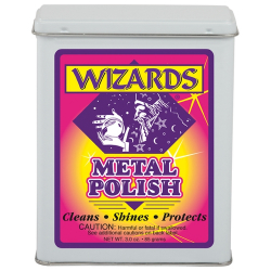 Wizards Metal Polish - Металическая вата для полировки хрома, 85 гр