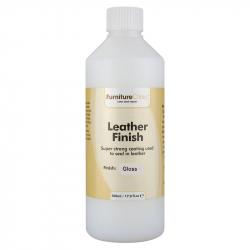 LeTech Furniture Clinic Leather Finish Gloss (500 ml) - Защитный лак для кожи, глянцевый