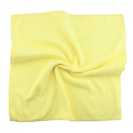 JETAPRO Microfiber Yellow - Многоразовая полировальная салфетка 40*40 см 330м2 желтая, 1 шт