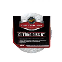 Meguiars DA Microfiber Cutting Disc 6 Полировальник режущий микрофибровый 150мм, комплект 2шт