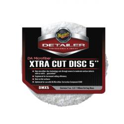 Meguiars DA Microfiber Xtra Cut Disc Полировальник режущий микрофибровый 127мм, комплект 2шт