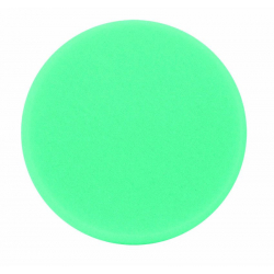 Buff and Shine Полировальный диск плоский,антиголограммный,полутвердый,зеленый,160*30мм