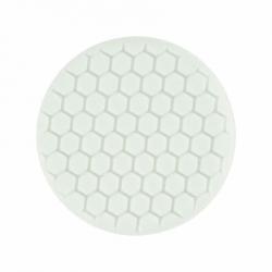 Buff and Shine Полировальный диск с закрытыми порами, антиголограммный, полутвердый, белый, 150мм
