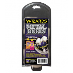 Wizards Metal Buffs Kit - Набор из 4 падов на металлическом стержне, 4 шт