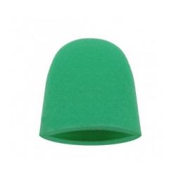Finger Mitt Medium Green - Аппликатор в форме полупальца, полутвердый, зеленный, 1шт