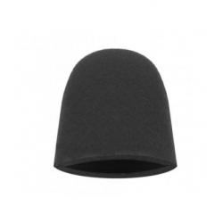 Finger Mitt Ultra Fine Black - Аппликатор в форме полупальца, мягкий, черный, 1шт