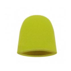 Finger Mitt Aggressive yellow - Аппликатор в форме полупальца, жесткий, желтый, 1шт