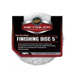 Meguiars DA Microfiber Finishing Disc 5 - Полировальник финишный, микрофибровый 127мм, комплект 2шт