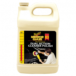 Meguiars Dual Action Cleaner Polish - Полироль-очиститель, 3.79л