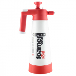 KWAZAR Heavy duty ACID Foamer Venus пеногенератор для щелочей pH 1-4, красный, 2 л