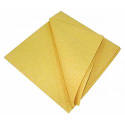 Драймэн Искусственная замша желтая 50*44 см