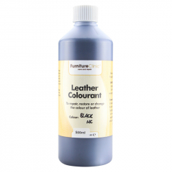 LeTech Furniture Clinic Leather Colourant (Black HC)  (500 ml) - Краска для кожи (Черная)