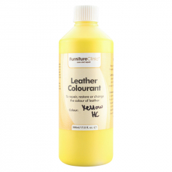 LeTech Furniture Clinic Leather Colourant (Yellow HC) (500 ml) - Краска для кожи (Желтая)