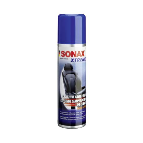 SONAX Xtreme Leather Care Foam - Пенный очиститель кожи, 250мл