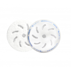RUPES Микрофибровый полировальный диск, грубый, голубой 130/150 мм