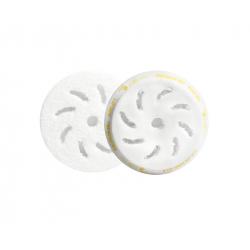 RUPES Микрофибровый полировальный диск, доводочный, желтый 80/100 мм