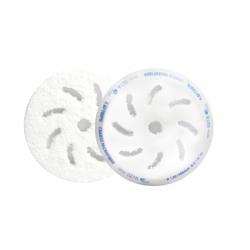 RUPES Микрофибровый полировальный диск, грубый, голубой 80/100 мм