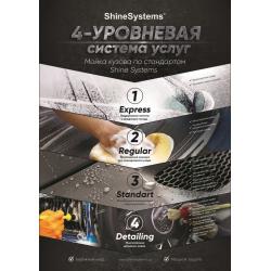 "Shine Systems плакат А4 ""Система услуг"""
