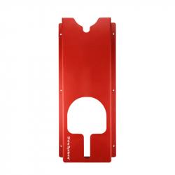 Shine Systems Держатель полировальных машинок, настенный, пластик, красный 60*25,5*9,5см