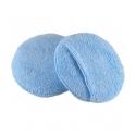 Hi-Tech Аппликатор круглый микрофибровый для нанесения составов, голубой