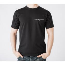 Shine Systems футболка трикотажная (черная) - XXL