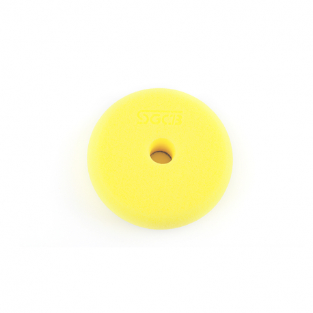 SGCB RO/DA Foam Pad Yellow - Полировальный круг антиголограммный желтый 75/85мм