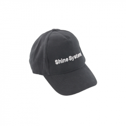 Shine Systems бейсболка черная