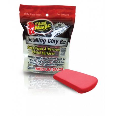 AutoMagic Clay Magic Medium Grade - Глина абразивная (красная) 200гр.