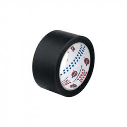 EUROCEL Маскирующая термостойкая лента 25мм*40м, черная