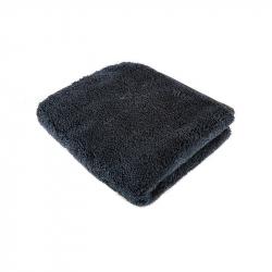 SGCB Super Thick Coral Velvet Towel - Супертолстое двустороннее полотенце 40*40см 1200 гр/м2, черное