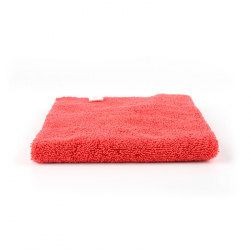SGCB Edgeless Polish Towel - Микрофибра без оверлока односторонняя 40*40см 380 гр/м2, красная