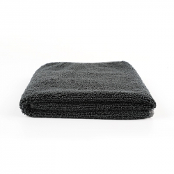 SGCB Edge Wax Towel - Микрофибра оверлоченная односторонняя 40*60см 380 гр/м2, черная