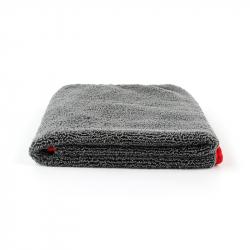 SGCB Edge Wax Towel - Микрофибра оверлоченная односторонняя 40*60см 380 гр/м2, серая