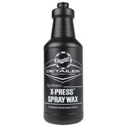 Meguiars Бутылка для распыления Synthetic X-Press Spray Wax, черная, 945мл.