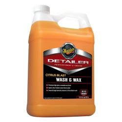 Meguiars Citrus Blast Wash & Wax Моющее средство с воском, 3,79л.
