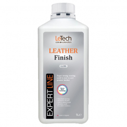 LeTech Furniture Clinic Leather Finish Gloss Expert Line 1000 ml - Защитный лак для кожи, глянцевый