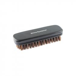 Shine Systems Leather Brush - щетка для чистки кожи с натуральной щетиной