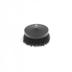 SGCB Pneumatic Carpet Brush Black - щетка-насадка на дрель для чистки текстиля жесткая, 90мм