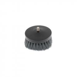SGCB Pneumatic Carpet Brush Grey - щетка-насадка на дрель для чистки текстиля средней жескости, 90мм