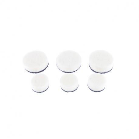 SGCB Detail Polsiher Wool Pad Set - Набор войлочных полировальных кругов для гибкого вала, 6шт