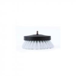 SGCB Pneumatic Carpet Brush White - щетка-насадка на дрель для чистки текстиля мягкая, 90мм