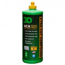 3D ACA X-TRA Cut Compound - Паста для быстрой низкотемпературной полировки на водной основе, 940 мл.